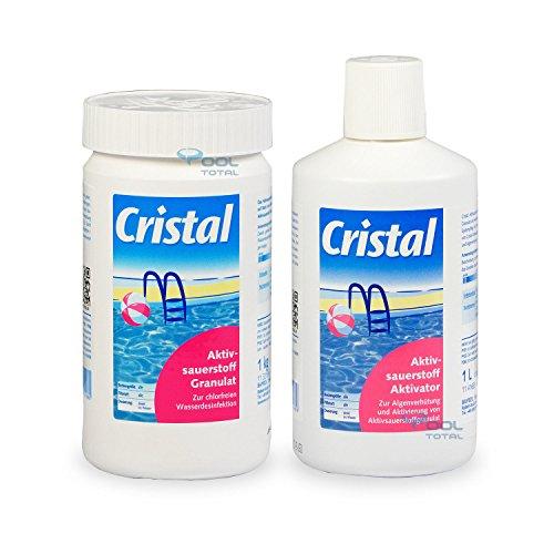 Bayrol Spar-Set Cristal 1,0 kg Aktivsauerstoff Granulat + 1,0 l Aktivsauerstoff Aktivator