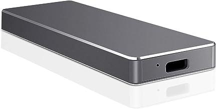 Unidad de disco duro externo delgado de 1 TB y 2 TB, compatible con PC, portátil y Mac negro 1 tb