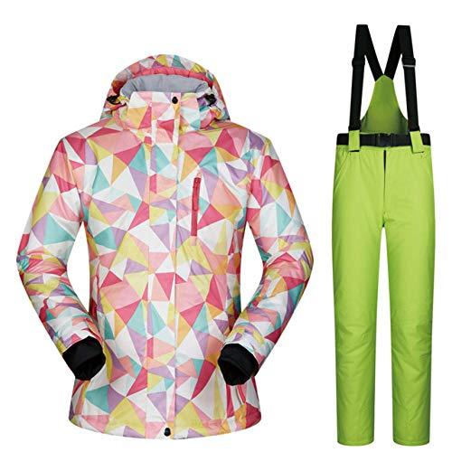 MEOBHI Skipakken snowboard pakken dames winter hoogwaardige skijassen en broeken winddicht waterdicht warmte ademend sneeuwset skipakken