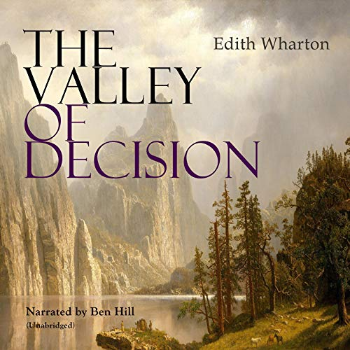 The Valley of Decision audiobook cover art