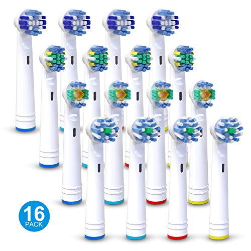 Recambios Cepillos Electricos para Oral 16 Packs, iTrunk Recambios de cabezales de...