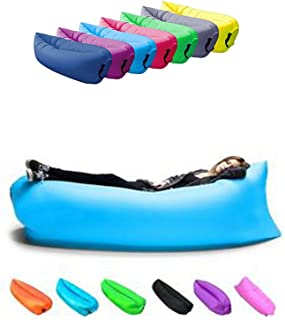 RemedyHealth Inflatable Lounger, Portable Air Beds Sleeping Sofa Couch for Travelling, Camping, Beach