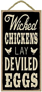 SJT ENTERPRISES, INC. Wicked Chickens Lay Deviled Eggs 5