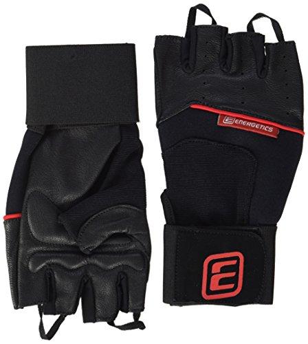 ENERGETICS Herren 710 Handschuhe, Schwarz/Rot, XL