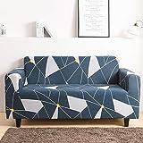 Mayama - Funda de sofá extensible estampada para sofá con bonitos diseños, protector de muebles, funda para sillones y sofás, fundas asequibles de 3 plazas (195-230 cm)