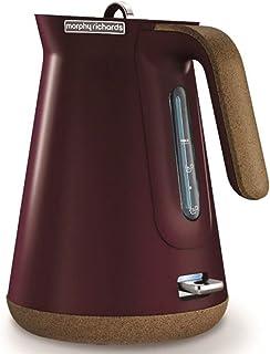 Morphy Richards Aspect Cork Kettle Electric Kettle, Maroon, 100017