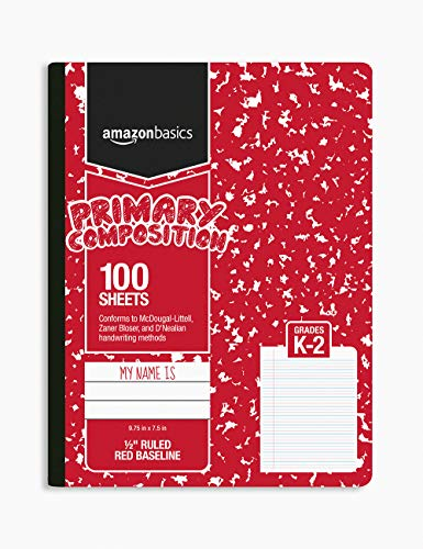 AmazonBasics Primary Composition 1/2