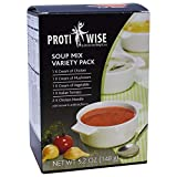 ProtiWise - High Protein Diet Soup Mix | Variety Pack | Low Carb, Low Fat (6/Box)