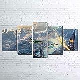 GIRDSS Kunstdrucke Moderne Druck Malerei Hintergrund