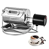 BuoQua 40W Stainless Steel Coffee Roaster Machine Tool Home Kitchen Appliance 220V Coffee