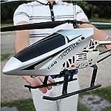 Poooc Teledirigido de radio de 2,4 GHz 3,5 Canal Gyro Helicóptero RC Aviones Uno de llaves se despegue/aterrizaje del avión Interior/Exterior Sistema estabilizador de avión RC cable de carga USB d