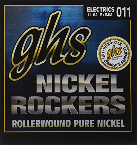 ghs エレキギター弦 NICKEL ROCKERS/ニッケル・ロッカーズ エリック・ジョンソン シグネチャー ミディアム 11-52 R+EJM