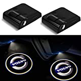 XINCHEN 2 Pieces Wireless Car Door Logo Light for Volvo , LED Car Door Courtesy Welcome Projector Light Ghost Shadow Lights Compatible with Volvo All Models