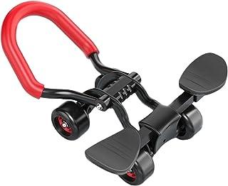 LOPADE 4 Wielen Ab Roller Buikoefening, Mute Core & Buiktrainers, Fitnessapparatuur Buikwiel voor Mannen Vrouwen Oefening ...
