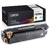 LEMERO Compatible Tóner para HP 85A CE285A para HP Laserjet Pro P1102 P1102W M1212NF M1214NFH MFP M1217NFW M1132 M1210 M1130 Impresora 1Negro