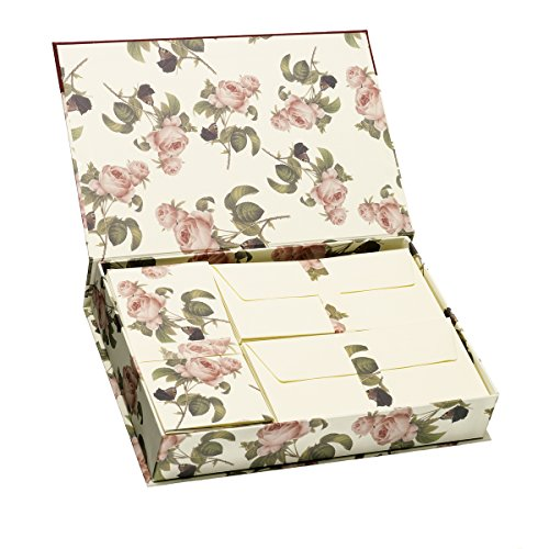 Rössler 1050524000 Briefpapierkassette, rosendruck
