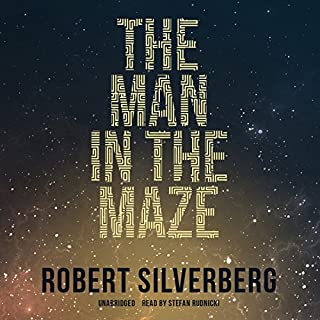 The Man in the Maze audiobook cover art
