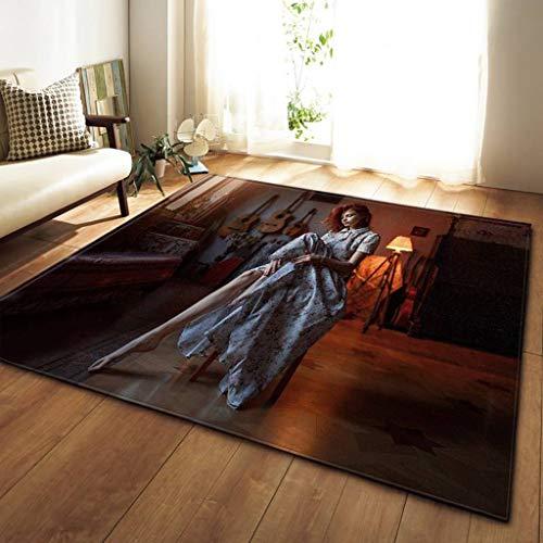 Moquettes, tapis et sous-tapis 3D beauté tapis 100x150cm Conception De Tapis De Sol Dans Le Salon Tapis Chambre Restaurant Cuisine Doux Tapis Tapis De Sol Décoration Carpets & Rugs (Couleur : H)