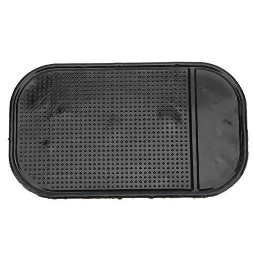 Tablero de instrumentos de silicona universal Estera antideslizante Soporte fijo de colocación para monedas de caja de CD de teléfono móvil