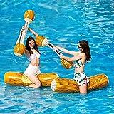 SBRTL Juguete Flotante Inflable 4Pcs / Set Juego Piscina Juguetes Deportes Acuáticos Verano Piscina Al Aire Libre Flotador Balsas Juguetes Playa para Niños Adultos
