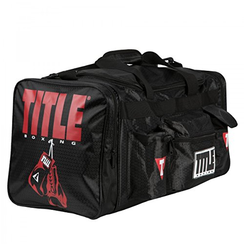 Title Boxing Deluxe Gear Bag 2.0, Black