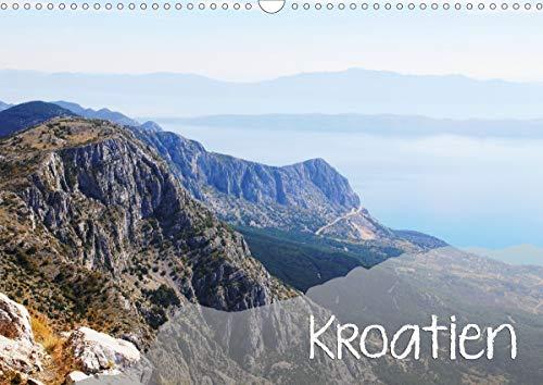 Kroatien (Wandkalender 2021 DIN A3 quer)