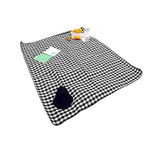 XIAOFANG 2m * 1.5m Manta de Playa Impermeable Manta portátil Al Aire Libre Picnic Mat Camping Terreno colchón Camping Camping Cama Cama de Dormir (Color : As Shown)