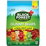 SO JUICY, SO GOOD: You know them, love them, now get your hands on some Black Forest Gummy bears. Made with real fruit juice, fat-free & gluten-free, each little gummy bear is as delicious as the last & the resealable bag keeps them fresh. BLACK FORE...