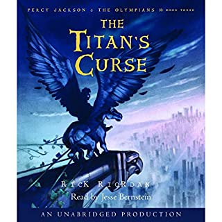 The Titan's Curse     Percy Jackson and the Olympians, Book 3              Auteur(s):                                                                                                                                 Rick Riordan                               Narrateur(s):                                                                                                                                 Jesse Bernstein                      Durée: 8 h et 48 min     62 évaluations     Au global 4,7