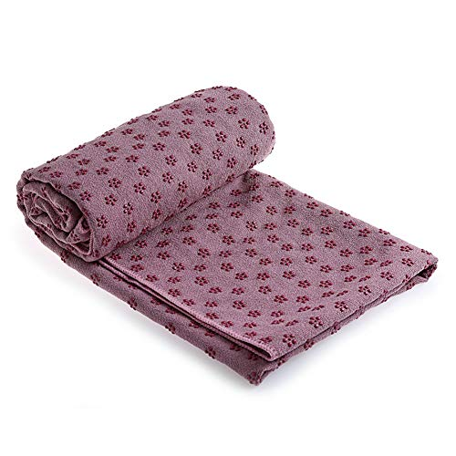 XIAMIMI Das perfekte Yoga Handtuch - Super Soft, schweißabsorbierend, Non-Slip Bikram Hot Yoga Handtücher |,L