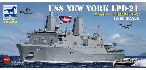 Bronco Models U.S.S. Nueva York lpd-21 San Antonio-Class