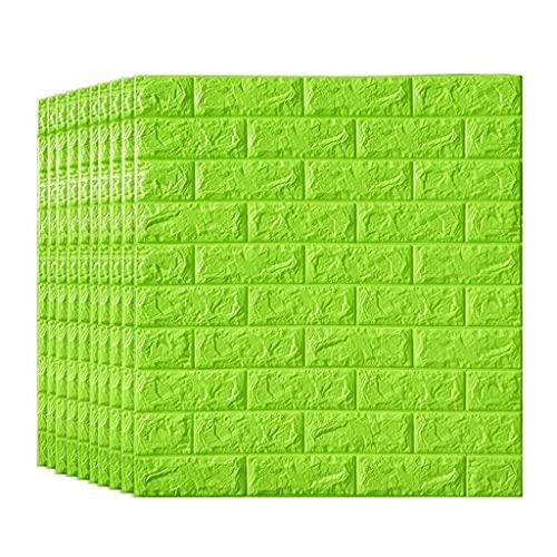 Paneles para paredes interiores Espuma De Etiqueta De La Pared Interior De La Sala De Estar 3D Fondos De Escritorio De Ladrillo, De Piel Desmontable Y Pegar PE Pared De Espuma Adhesivo 3D Del Papel Pi
