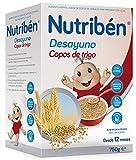 Nutribén Papilla - Desayuno Copos de Trigo, 750 g