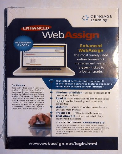 Enhanced Webassign