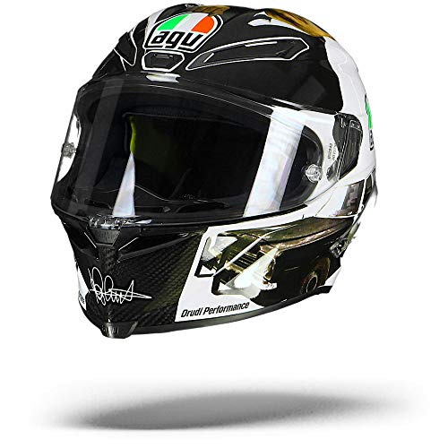 AGV PISTA GP R MISANO 2016 BLUES BROTHERS LIMITED EDITION INTEGRALHELM S