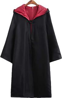 Harry Potter Kost/üm Kinder Erwachsene Umhang Damen Gryffindor Hufflepuff Ravenclaw Slytherin Fanartikel Fasching Outfit Set Cape,Krawatte,Hemd,Hermine Rock,Weste,Schal