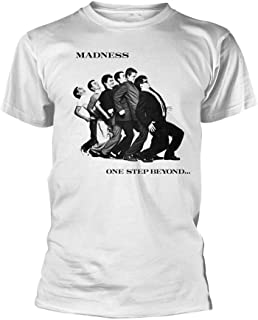 Madness T Shirt One Step Beyond Band Logo 新しい 公式 メンズ