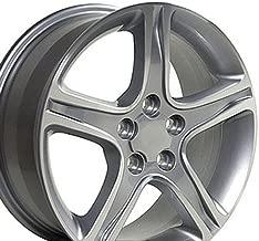 OE Wheels 17 Inch Fits Lexus ES GS HS IS LS RX SC Toyota Avalon Camry Matrix Rav4 Sienna IS Style LX01 Silver Machined 17x7 Rim Hollander 74157