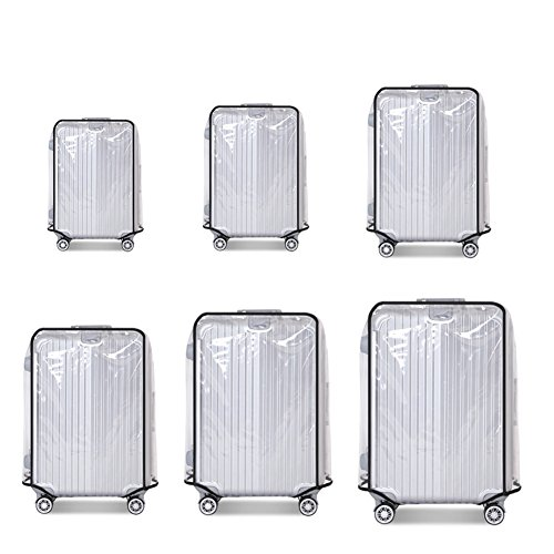 Why Choose FANMURAN Suitcase Cover Protectors Luggage Trolley Case Protector Clear PVC Waterproof Du...
