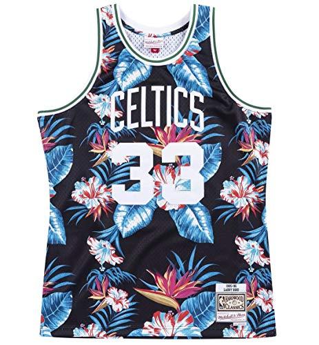 Mitchell & Ness Floral Swingman Jersey Boston Celtics Bird #33 M