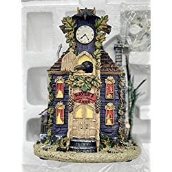 Hawthorne Village Munsters Raven's Cuckoo Clock Shop