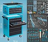 HAZET ハゼット 工具セット アシスタントトロリー 141ピース 178N-10/141