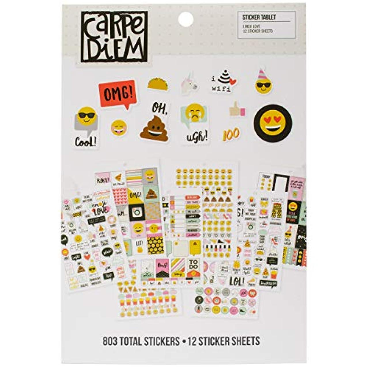 Simple Stories Emoji Love Sticker Tablet