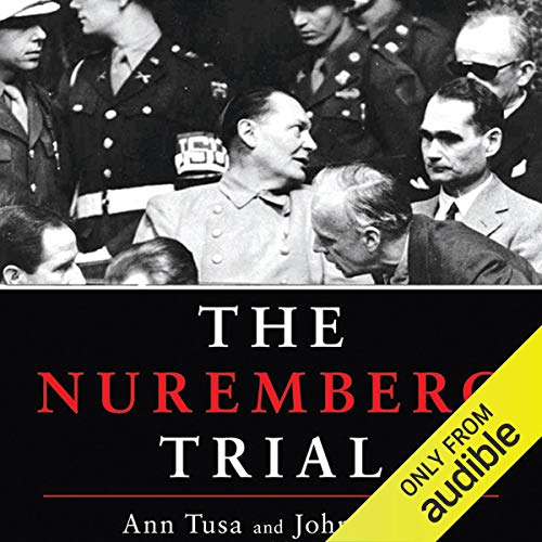 Page de couverture de The Nuremberg Trial