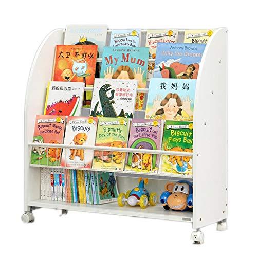 WANGPIPI Habitación de los niños de Madera Almacenamiento de Libros Fun Book Shelf Librerías Muebles de niños, de Almacenamiento, de estantería de Dibujos Animados, decoración del hogar, for lo