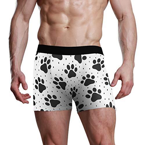 Boxershort M Boxershort Stretch Atmungsaktiv Pet Paw Animal Cosy Einzigartige Herrenwäsche Weich
