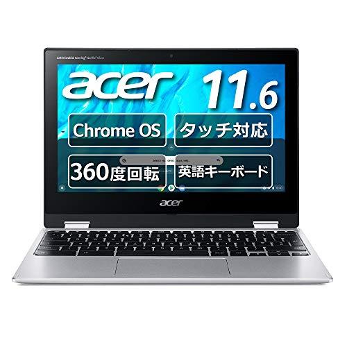 Chromebook Acer 11.6型 ノートパソコン Spin 311 MediaTek M8183C 4GBメモリ 32GB eMMC 360°ヒンジ 英語キーボード タッチパネル搭載 CP311-3H-A14N/E