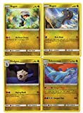 Pokemon Evolution Set - BAGON SHELGON SALAMENCE - Sun Moon Celestial Storm - 4 Card LOT Rare