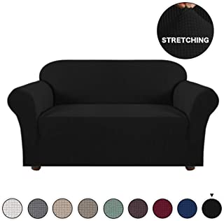 Turquoize Spandex Stretch Slipcover for Loveseat Sofa Cover/Lounge Cover, Anti-Slip Machine-Washable 1 Piece Form Fit Furniture Protector Couch Slipcover Highly Fitness