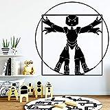 wukongsun Autocollant en Vinyle imperméable Auto-adhésif de Robot de décoration de Mur de Papier Peint d'accessoires de décoration 30cmX29cm